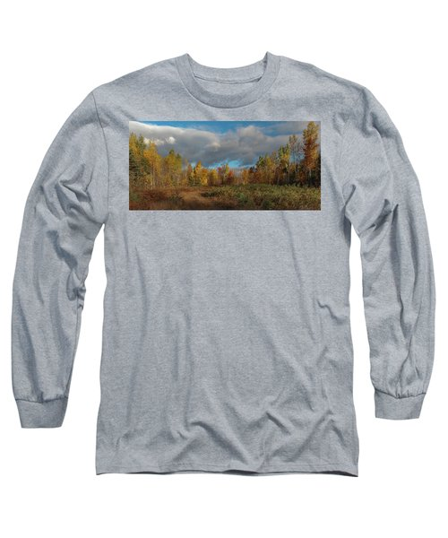 Maine Wilderness Color 2 Long Sleeve T-Shirt