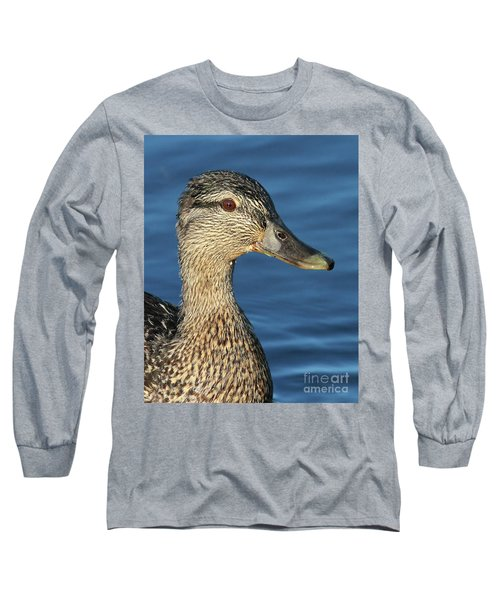 Mama Black Duck Long Sleeve T-Shirt