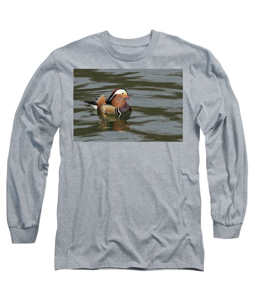 Mandarin Duck Long Sleeve T-Shirt