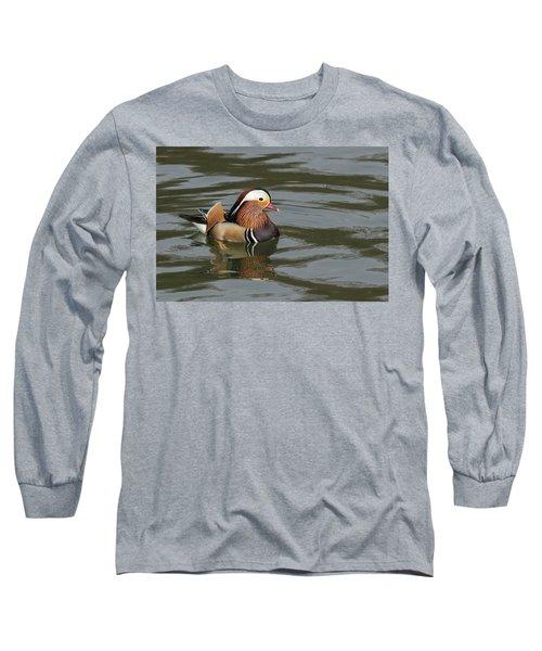 Mandarin Duck Long Sleeve T-Shirt