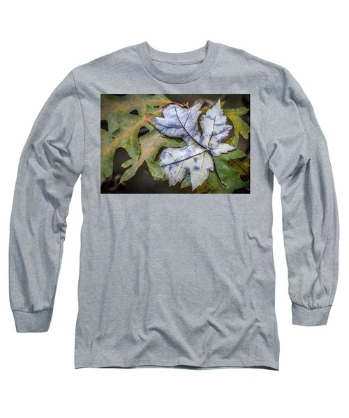 Long Sleeve T-Shirt featuring the photograph Maple And Oak by Michael Arend