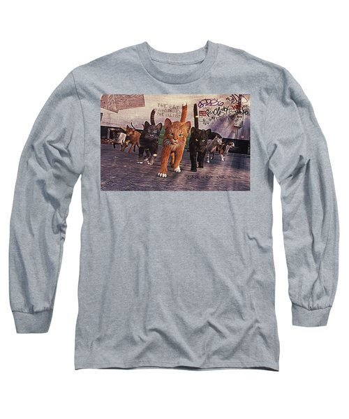 March Of The Mau Long Sleeve T-Shirt