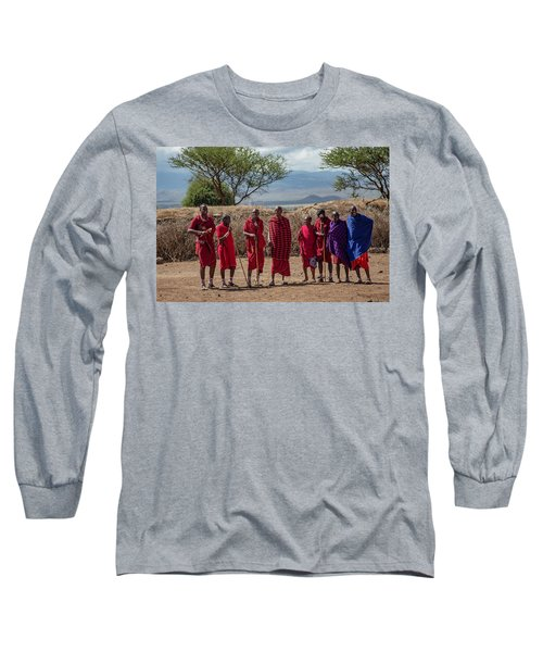 Maasai Men Long Sleeve T-Shirt