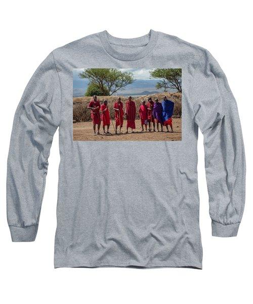 Maasai Men Long Sleeve T-Shirt