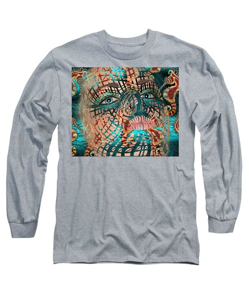 Mask Dreaming Of The Sea Long Sleeve T-Shirt