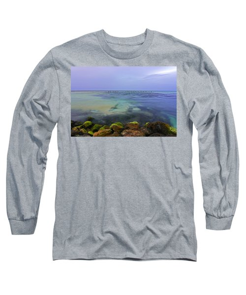 Mayan Sea Rocks Long Sleeve T-Shirt
