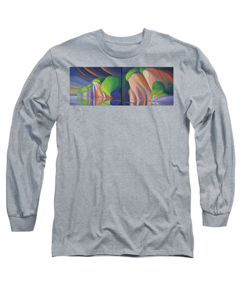 Mazinaw Rock Long Sleeve T-Shirt