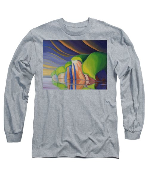 Mazinaw Rock I Long Sleeve T-Shirt