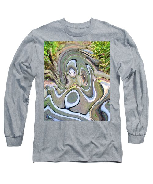Melting Stairs Long Sleeve T-Shirt
