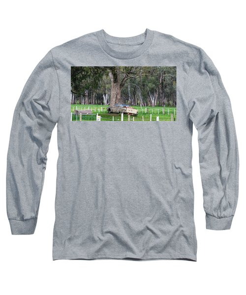 Memories Of The Farm Long Sleeve T-Shirt