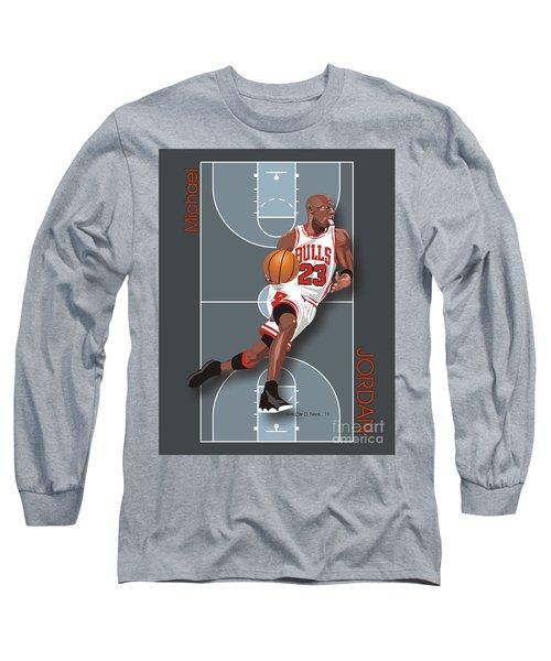 Michael Jordan, No. 23 Long Sleeve T-Shirt