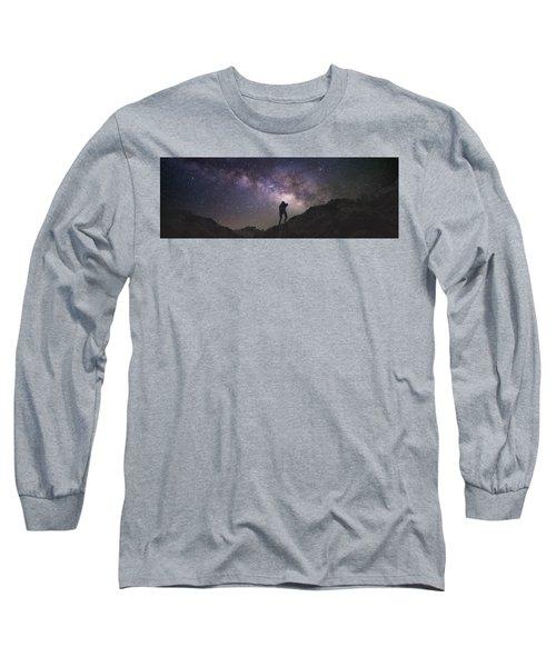 Milky Way Rappel Long Sleeve T-Shirt