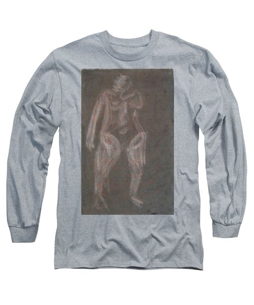 Model Named Helene Four Long Sleeve T-Shirt