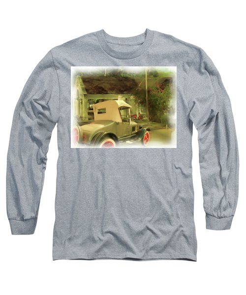 Model T In Barbados Long Sleeve T-Shirt