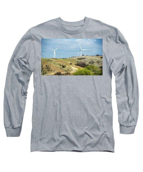 Modern Windmill Long Sleeve T-Shirt