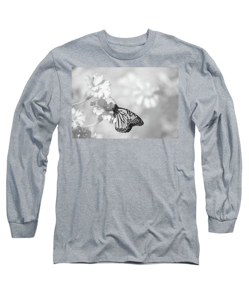 Long Sleeve T-Shirt featuring the photograph Monarch In Infrared by Brian Hale