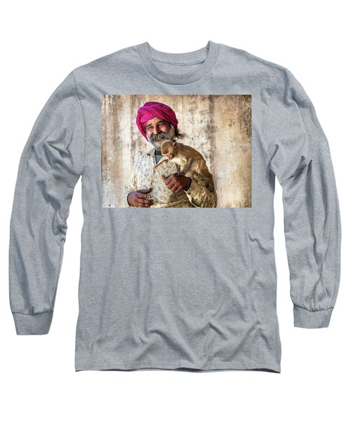 Monkey Temple Long Sleeve T-Shirt