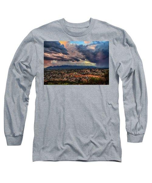 Monsoon Hits Tucson Long Sleeve T-Shirt