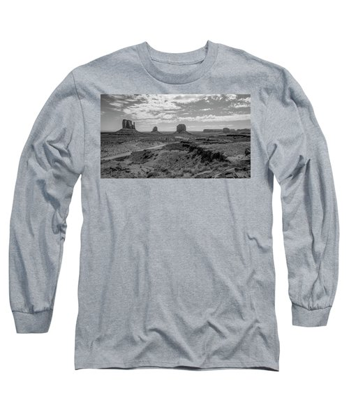 Monument Valley View Long Sleeve T-Shirt
