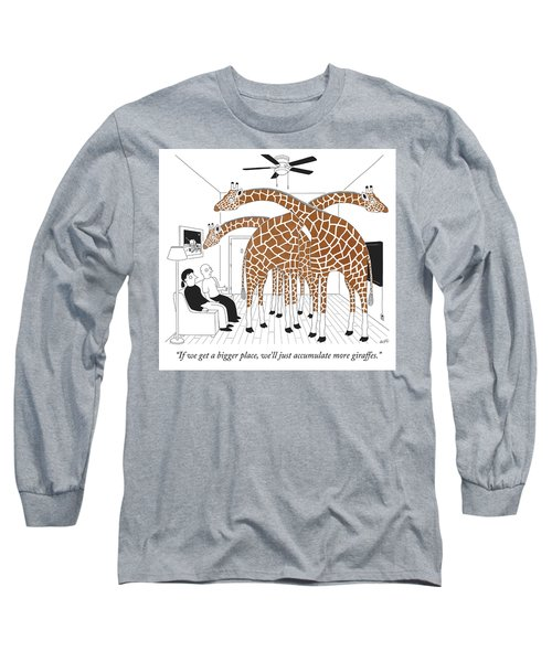 More Giraffes Long Sleeve T-Shirt