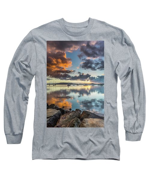 Morning Reflections Waterscape Long Sleeve T-Shirt