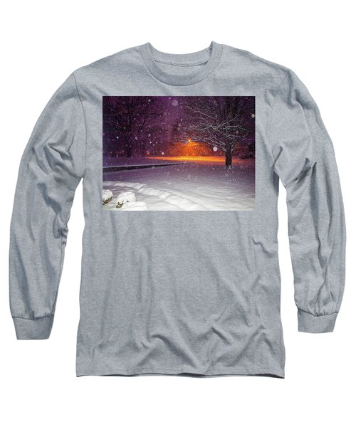 Morning Snow Long Sleeve T-Shirt