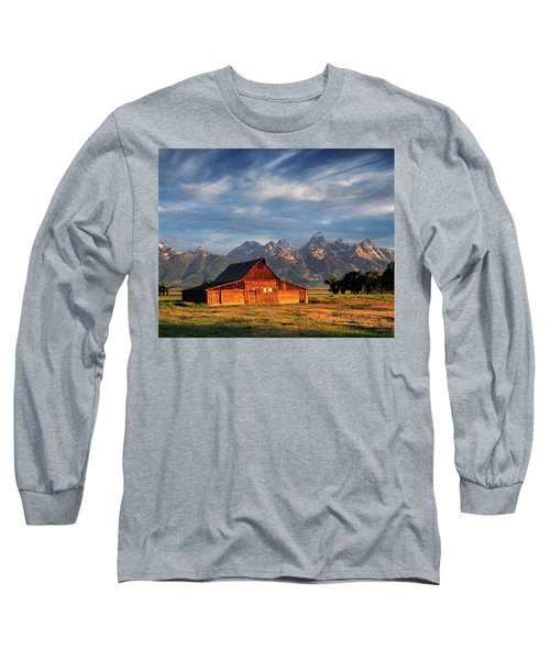 Moulton Barn Morning Light Long Sleeve T-Shirt