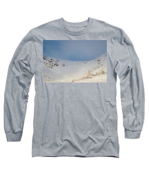Mountain Light, Tuckerman Ravine Long Sleeve T-Shirt