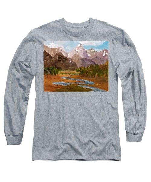 Spring In The Tetons Long Sleeve T-Shirt
