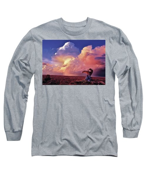 Mountain Thunder Shower Long Sleeve T-Shirt