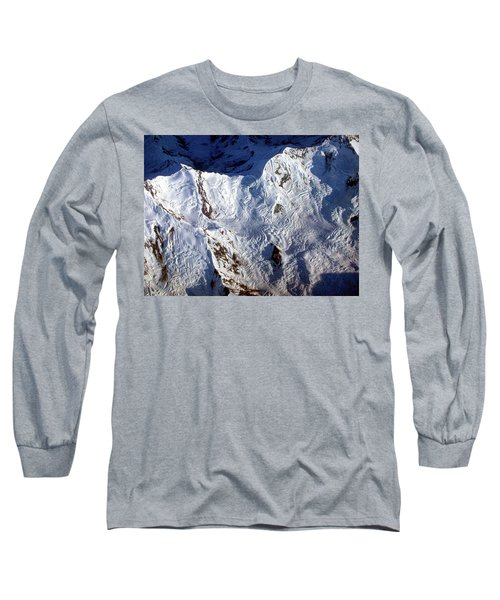 Mountaintop Snow Long Sleeve T-Shirt