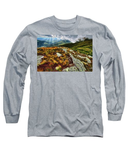 Mt. Washington Nh, Autumn Rays Long Sleeve T-Shirt