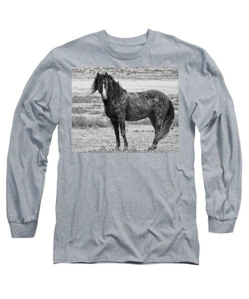 Muddy Mustang Long Sleeve T-Shirt