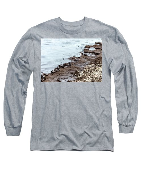 Muddy Sea Shore Long Sleeve T-Shirt