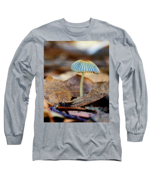 Mushroom Under The Oak Tree Long Sleeve T-Shirt