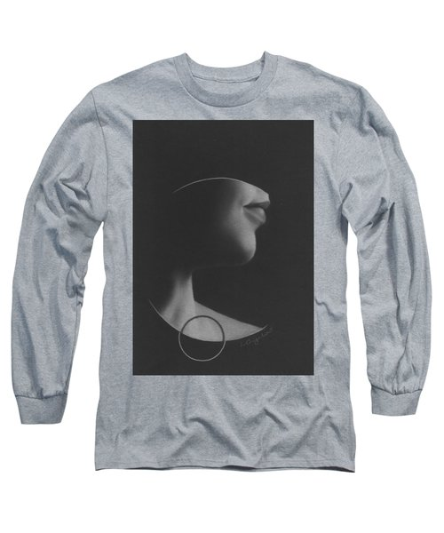 Muted Shadow No. 7 Long Sleeve T-Shirt