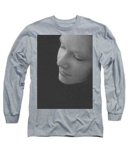 Muted Shadow No. 9 Long Sleeve T-Shirt