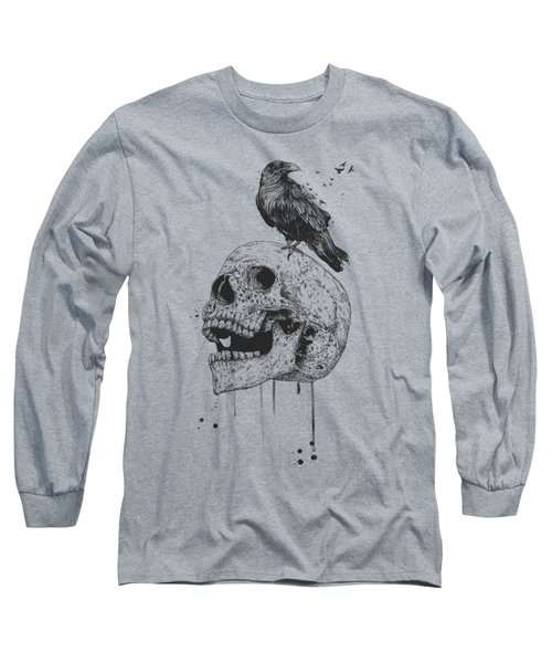 New Skull Long Sleeve T-Shirt