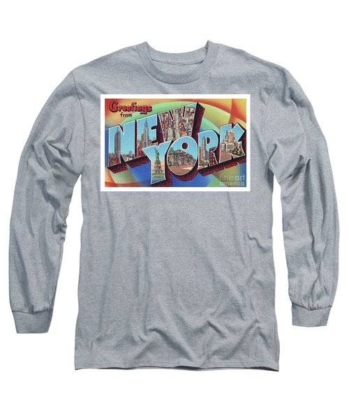 New York Greetings - Version 2 Long Sleeve T-Shirt