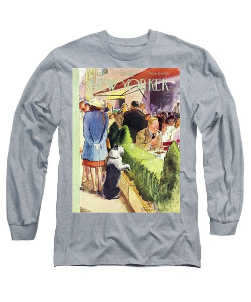 New Yorker August 17th 1946 Long Sleeve T-Shirt