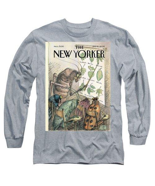 New Yorker July 10th, 2000 Long Sleeve T-Shirt