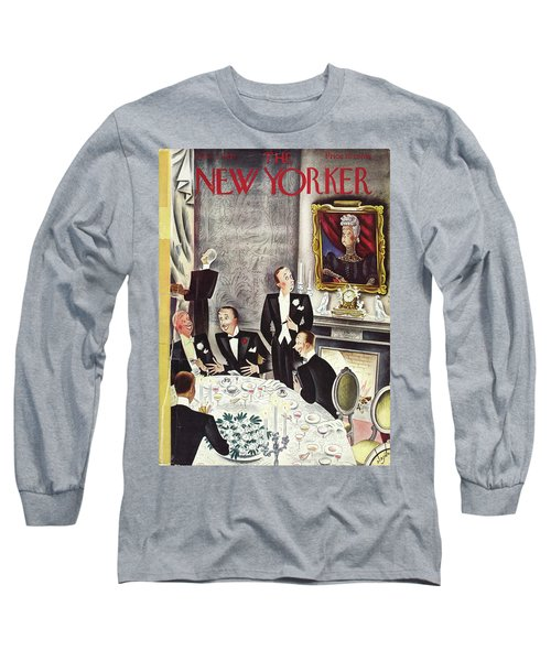 New Yorker November 2nd 1935 Long Sleeve T-Shirt