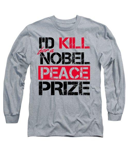 Nobel Prize Long Sleeve T-Shirt