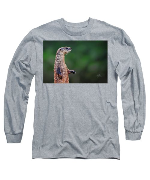 Norman The Otter Long Sleeve T-Shirt