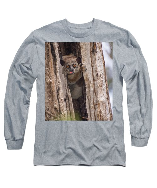 Long Sleeve T-Shirt featuring the photograph Nyah by Alex Lapidus