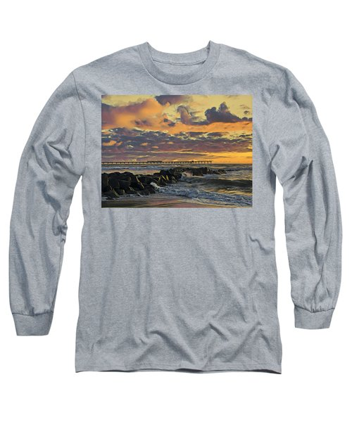 Ob Sunset No. 3 Long Sleeve T-Shirt