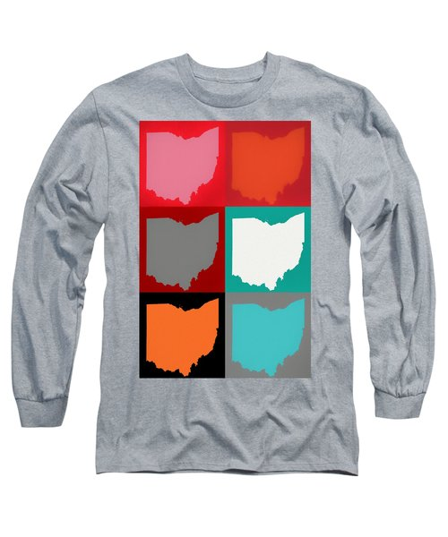 Ohio Pop Art Long Sleeve T-Shirt