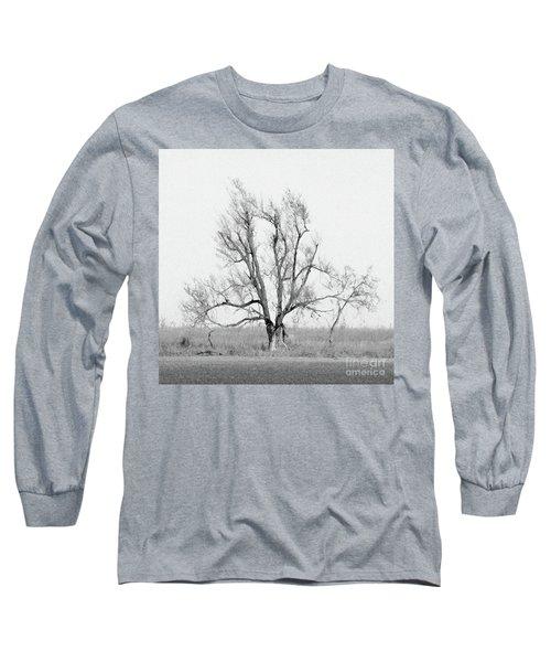 Oklahoma Tree Long Sleeve T-Shirt