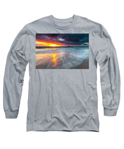 Old Lighthouse Long Sleeve T-Shirt