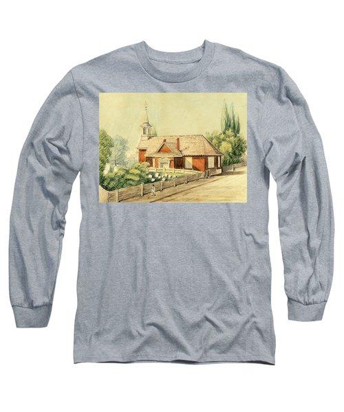 Old Swedes' Church, Southwark, Philadelphia Long Sleeve T-Shirt